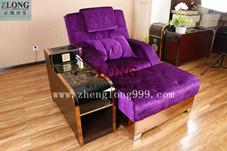 足疗沙发(A-3玫瑰金边)